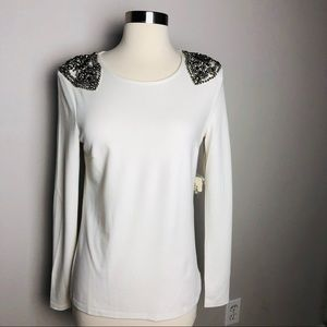 Forever 21 Gorgeous embellished Top Size Small